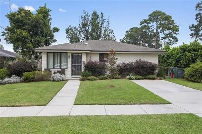 Metairie Single Family Home For Sale: 1515 Claudius Street