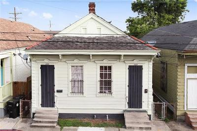 New Orleans Multi Family Home For Sale: 2427 S Robertson Street
