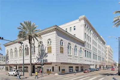 New Orleans Condo For Sale: 1201 Canal Street #603