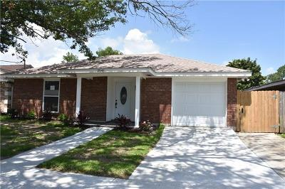 Kenner Single Family Home Pending Continue to Show: 2541 Kentucky Avenue