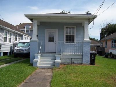 New Orleans Single Family Home For Sale: 2529 Clover Street