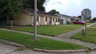 Marrero Single Family Home For Sale: 3029 Lillie Street