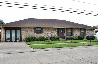 Kenner Single Family Home For Sale: 2101 Maine Avenue