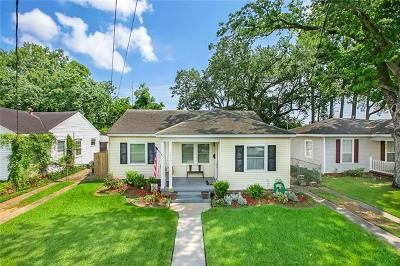 Metairie Single Family Home For Sale: 4531 Rosedale Drive