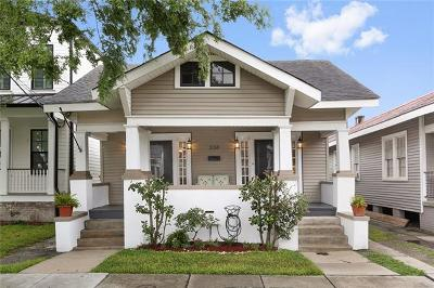New Orleans Single Family Home For Sale: 334 N Olympia Street