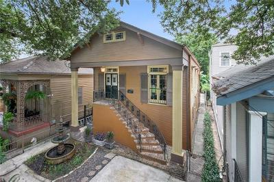 New Orleans Single Family Home For Sale: 808 Napoleon Avenue
