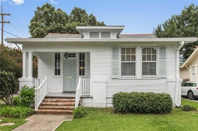 New Orleans Single Family Home For Sale: 7331 Nelson Street