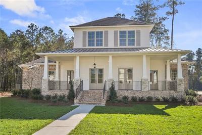 Mandeville LA Single Family Home For Sale: $875,000