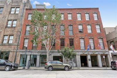 New Orleans Condo For Sale: 448 Julia Street #217