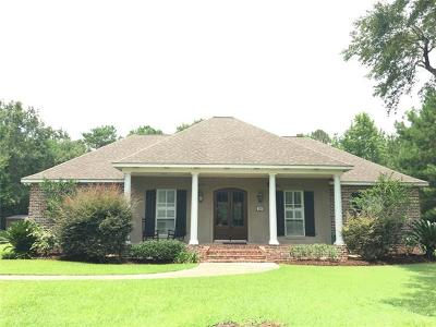 Slidell Single Family Home For Sale: 2015 Old River Road