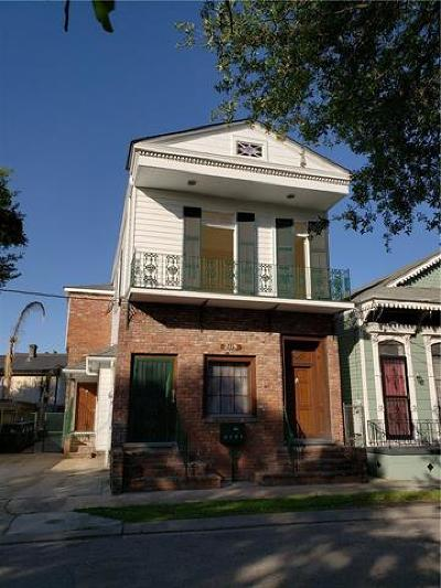 New Orleans Multi Family Home For Sale: 2119 Governor Nicholls Street