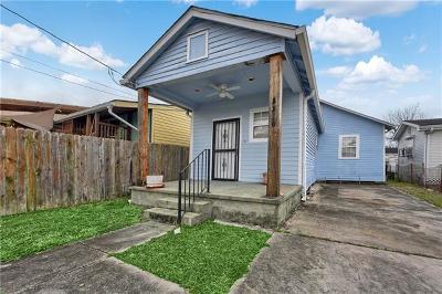 New Orleans Single Family Home For Sale: 3316 Mistletoe Street