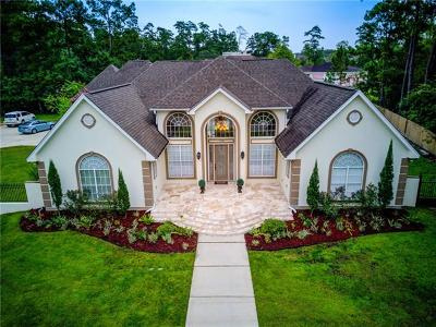 Slidell Single Family Home For Sale: 1229 Bluff Drive
