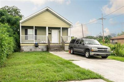 New Orleans Single Family Home For Sale: 2538 Flood Street