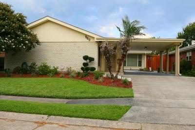 Metairie Single Family Home For Sale: 969 Rosa Avenue