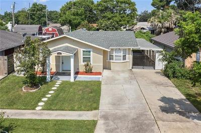 Kenner Single Family Home Pending Continue to Show: 3903 California Avenue
