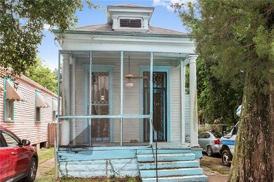 New Orleans Single Family Home For Sale: 8619 Plum Street