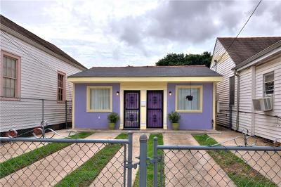 New Orleans Single Family Home For Sale: 1460 N Roman Street