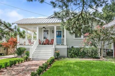 New Orleans Single Family Home For Sale: 130 Mound Avenue