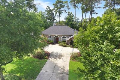 Mandeville Single Family Home Pending Continue to Show: 246 Chestnut Oak Drive
