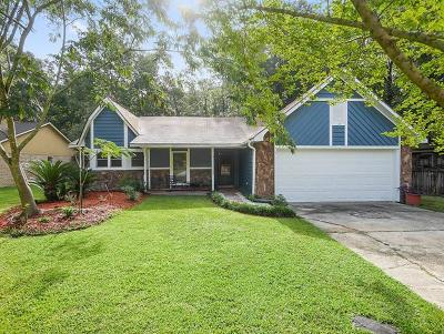 Mandeville Single Family Home For Sale: 605 Red Oak Drive