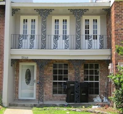 New Orleans LA Townhouse For Sale: $74,900