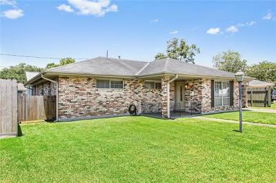 River Ridge, Harahan Single Family Home Pending Continue to Show: 7605 Wilson Street