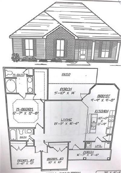 Single Family Home For Sale: Lot 32 Penrose Street
