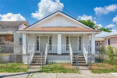 Single Family Home For Sale: 8824 Hickory Street