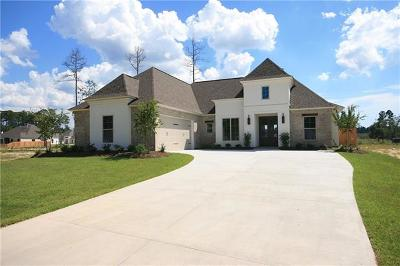 Madisonville Single Family Home For Sale: 736 Grey Heron Lane