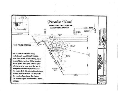 Slidell Residential Lots & Land For Sale: 598 Carr Drive
