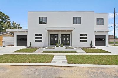 Metairie Townhouse For Sale: 4315 Anthony Street
