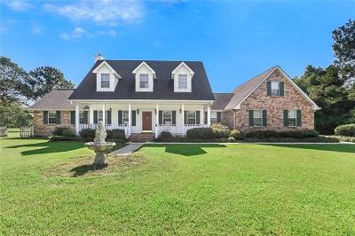 Covington Single Family Home For Sale: 78428 Highway 1081 Highway
