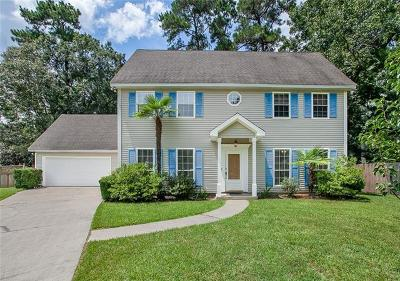 Single Family Home For Sale: 619 Plantation Boulevard