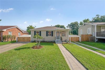 Arabi Single Family Home For Sale: 7209 Friscoville Avenue