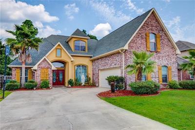 Slidell Single Family Home For Sale: 510 Bellingrath Lane