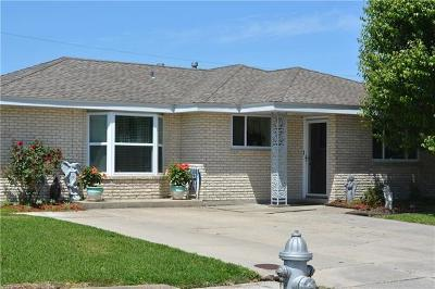 Marrero Single Family Home For Sale: 1628 Hope Drive