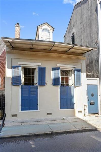 New Orleans Single Family Home For Sale: 1129 Burgundy Street