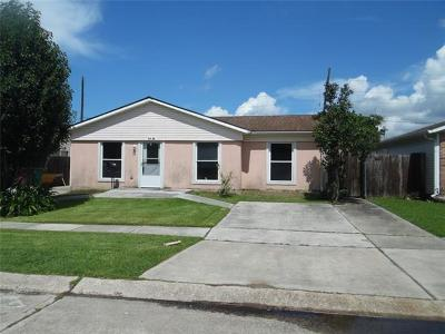 Kenner Single Family Home For Sale: 3640 W Loyola Drive