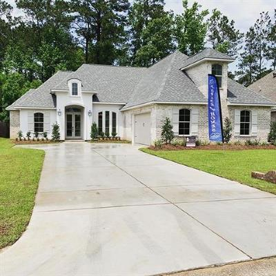 Madisonville Single Family Home For Sale: Lot 04 Spring Haven Lane