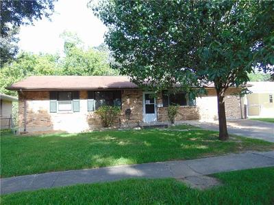 Kenner Single Family Home For Sale: 2312 Kentucky Avenue
