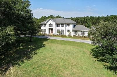 Mandeville LA Single Family Home For Sale: $995,000