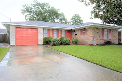 Marrero Single Family Home For Sale: 2125 Suwanee Drive
