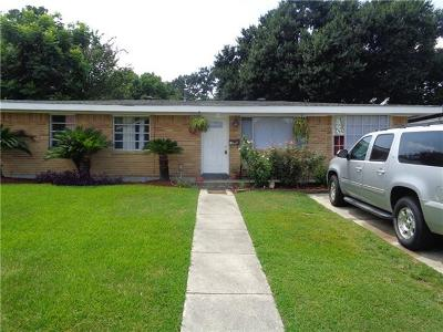 Kenner Single Family Home For Sale: 2605 Indiana Avenue