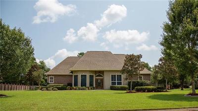 Slidell Single Family Home For Sale: 1257 Bluff Drive