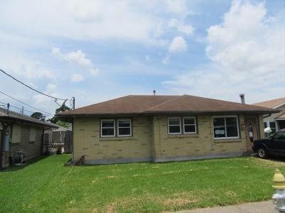Jefferson Parish Single Family Home For Sale: 512 N Starrett Road