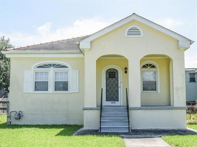 New Orleans Single Family Home For Sale: 4649 East View Drive