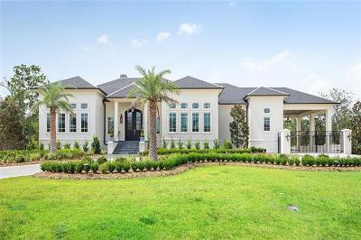 Mandeville LA Single Family Home For Sale: $2,850,000