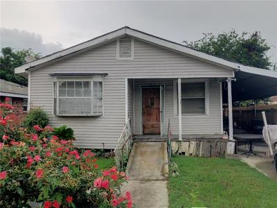Kenner Single Family Home For Sale: 3120 Acron Street