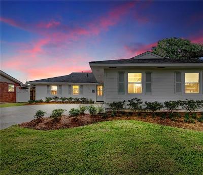 Metairie Single Family Home For Sale: 1309 Zuma Avenue